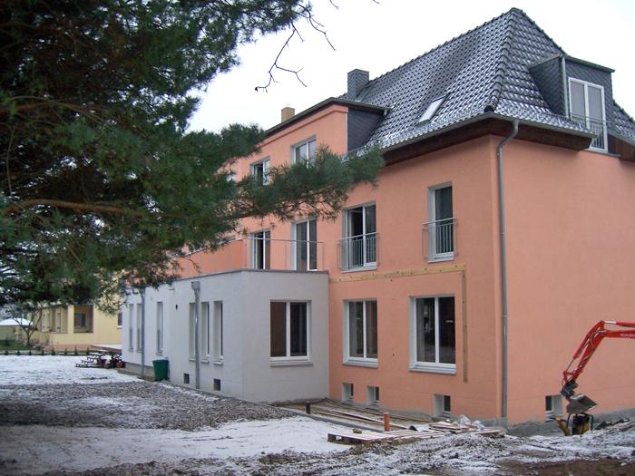 Modernisierung Doppelhaus Meußlitz